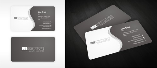 Modern, Luxurious Business Cards and Stationery  Draft # 125 by ElCoco