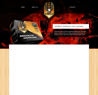 FALCON CHARCOAL Complete Web Design Solution  Draft # 34 by spectrum7