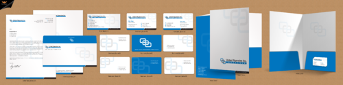 Insurance Company Stationery Design Business Cards and Stationery Winning Design by einsanimation