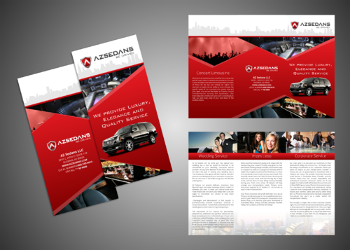 AZ SEDANS BROCHURES Marketing collateral  Draft # 5 by Kaiza