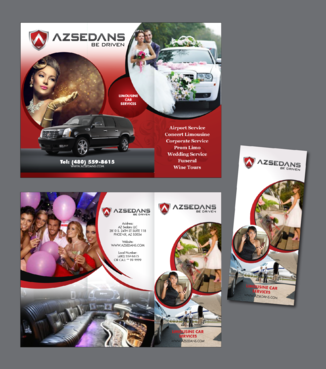 AZ SEDANS BROCHURES Marketing collateral  Draft # 7 by inovatedesign