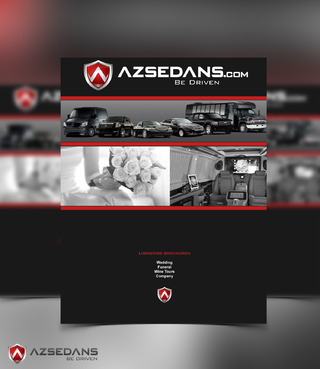 AZ SEDANS BROCHURES Marketing collateral  Draft # 8 by DeneoNeivol