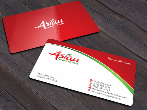 Asian Foods & Produce Distributors, Inc. Business Cards and Stationery  Draft # 12 by Xpert