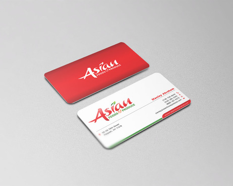 Asian Foods & Produce Distributors, Inc. Business Cards and Stationery  Draft # 130 by cre8ivebrain