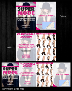 Supermode shoes Marketing collateral  Draft # 34 by thebullet