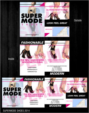Supermode shoes Marketing collateral  Draft # 35 by thebullet