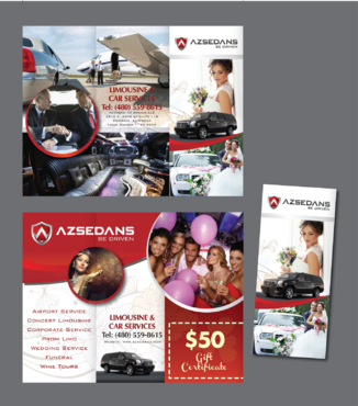 AZ SEDANS BROCHURES Marketing collateral  Draft # 13 by inovatedesign