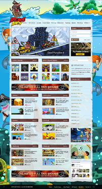 WWW.ARCADEAHOY.COM Complete Web Design Solution Winning Design by pivotal