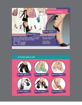 Supermode shoes Marketing collateral  Draft # 47 by inovatedesign