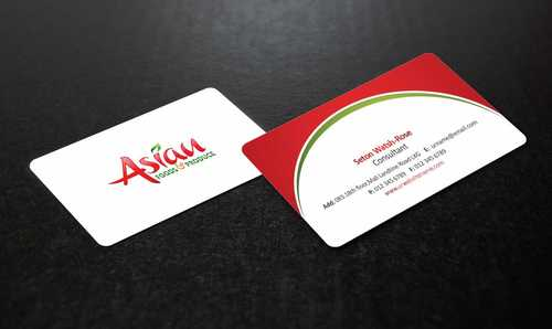 Asian Foods & Produce Distributors, Inc. Business Cards and Stationery  Draft # 314 by Dawson