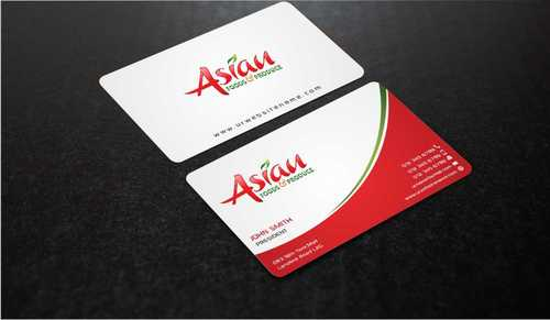 Asian Foods & Produce Distributors, Inc. Business Cards and Stationery  Draft # 332 by Dawson
