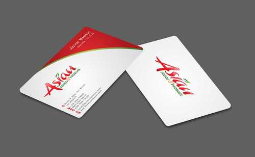 Asian Foods & Produce Distributors, Inc. Business Cards and Stationery  Draft # 330 by Dawson