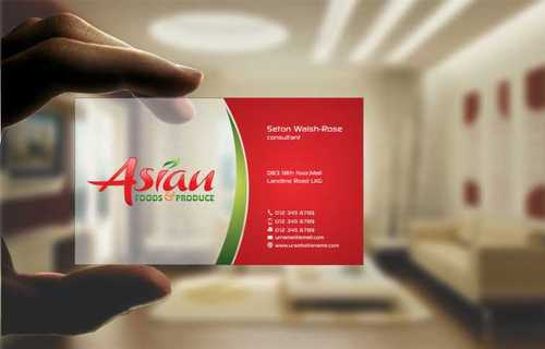Asian Foods & Produce Distributors, Inc. Business Cards and Stationery  Draft # 333 by Dawson