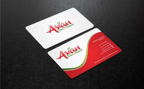 Asian Foods & Produce Distributors, Inc. Business Cards and Stationery  Draft # 341 by Dawson