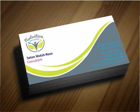 Nutrition Referee Business Cards and Stationery  Draft # 172 by Dawson