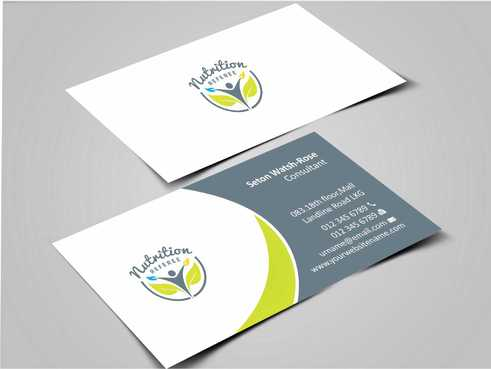 Nutrition Referee Business Cards and Stationery  Draft # 174 by Dawson