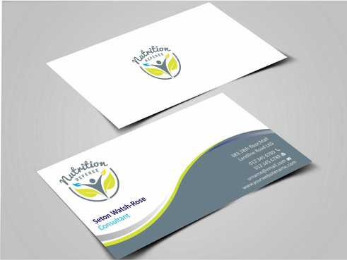 Nutrition Referee Business Cards and Stationery  Draft # 175 by Dawson