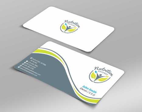 Nutrition Referee Business Cards and Stationery  Draft # 177 by Dawson