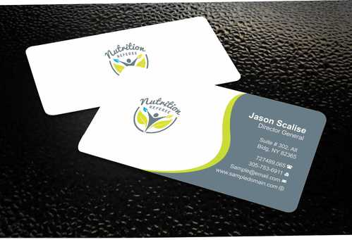 Nutrition Referee Business Cards and Stationery  Draft # 179 by Dawson