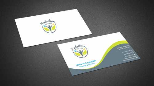 Nutrition Referee Business Cards and Stationery  Draft # 180 by Dawson