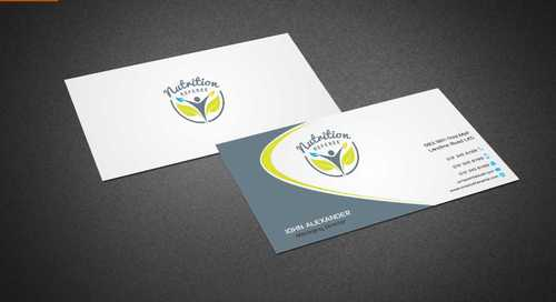 Nutrition Referee Business Cards and Stationery  Draft # 181 by Dawson
