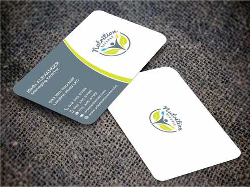 Nutrition Referee Business Cards and Stationery  Draft # 182 by Dawson