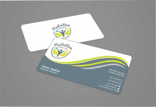 Nutrition Referee Business Cards and Stationery  Draft # 183 by Dawson