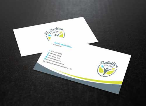 Nutrition Referee Business Cards and Stationery  Draft # 187 by Dawson