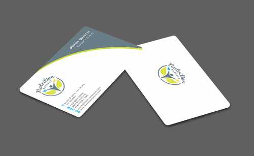 Nutrition Referee Business Cards and Stationery  Draft # 189 by Dawson