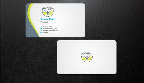 Nutrition Referee Business Cards and Stationery  Draft # 192 by Dawson
