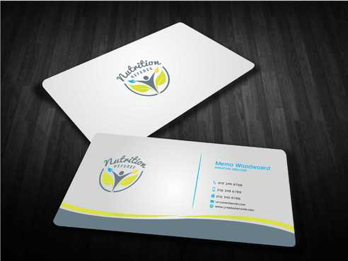 Nutrition Referee Business Cards and Stationery  Draft # 193 by Dawson