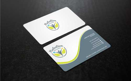 Nutrition Referee Business Cards and Stationery  Draft # 198 by Dawson
