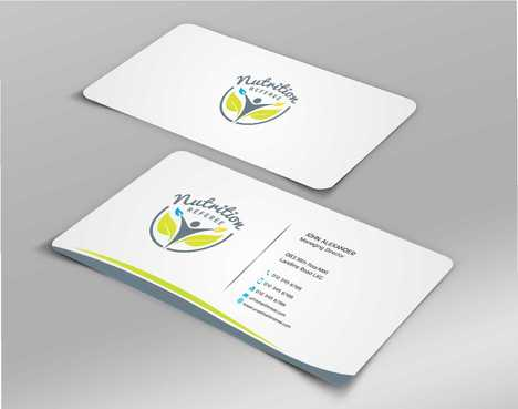 Nutrition Referee Business Cards and Stationery  Draft # 199 by Dawson