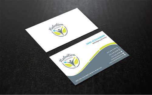 Nutrition Referee Business Cards and Stationery  Draft # 201 by Dawson