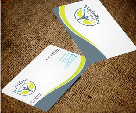 Nutrition Referee Business Cards and Stationery  Draft # 200 by Dawson