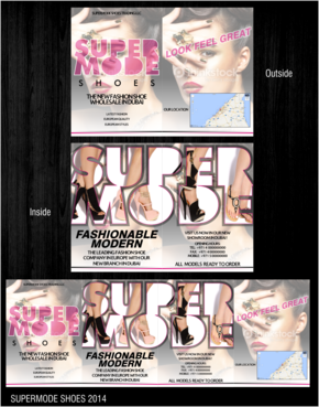 Supermode shoes Marketing collateral  Draft # 73 by thebullet