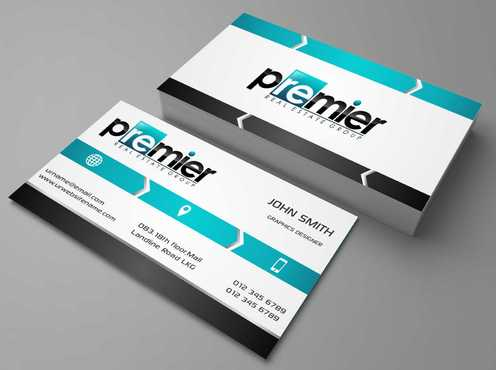 Premier Real Estate Group Business Cards and Stationery  Draft # 118 by Dawson