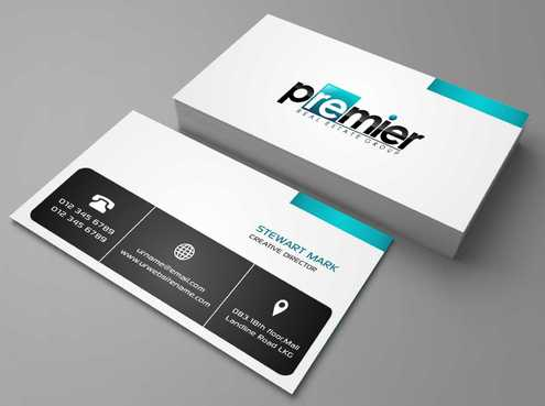 Premier Real Estate Group Business Cards and Stationery  Draft # 120 by Dawson