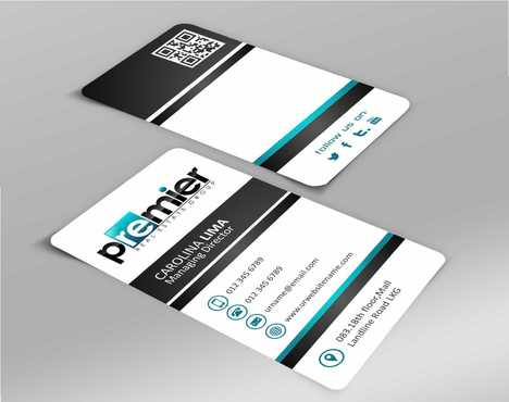 Premier Real Estate Group Business Cards and Stationery  Draft # 122 by Dawson