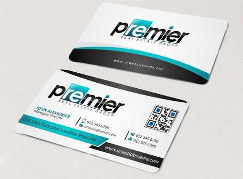 Premier Real Estate Group Business Cards and Stationery  Draft # 125 by Dawson