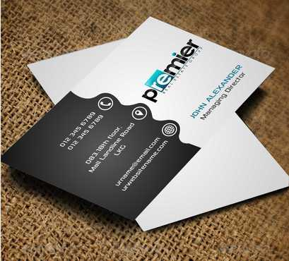 Premier Real Estate Group Business Cards and Stationery  Draft # 127 by Dawson