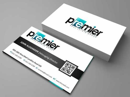 Premier Real Estate Group Business Cards and Stationery  Draft # 130 by Dawson