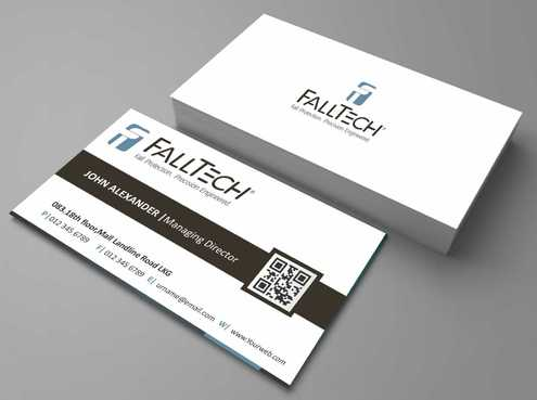 For construction and Industrial Safety  Business Cards and Stationery  Draft # 100 by Dawson