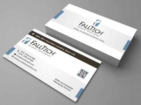 For construction and Industrial Safety  Business Cards and Stationery  Draft # 110 by Dawson