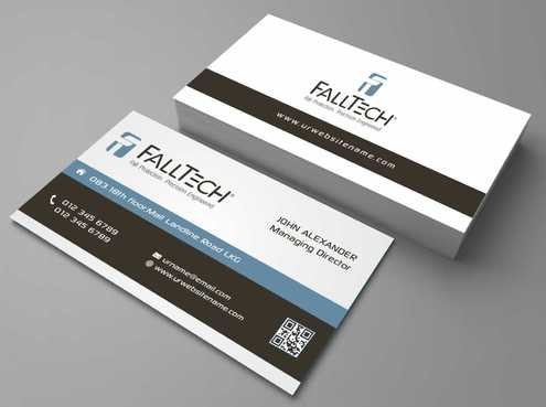 For construction and Industrial Safety  Business Cards and Stationery  Draft # 111 by Dawson