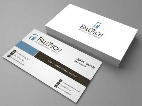 For construction and Industrial Safety  Business Cards and Stationery  Draft # 120 by Dawson
