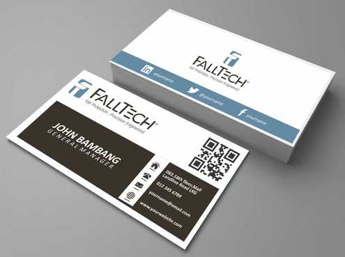 For construction and Industrial Safety  Business Cards and Stationery  Draft # 122 by Dawson