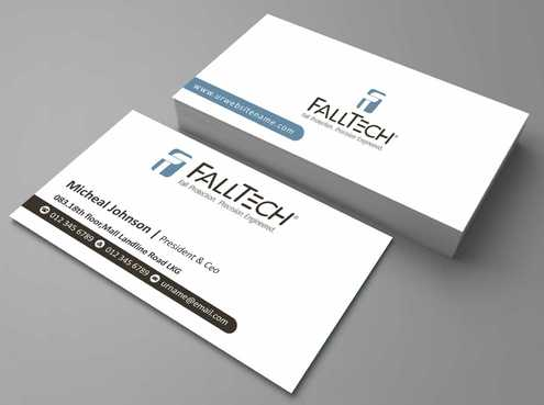 For construction and Industrial Safety  Business Cards and Stationery  Draft # 126 by Dawson