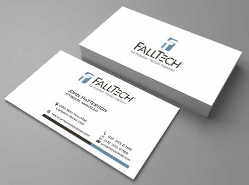 For construction and Industrial Safety  Business Cards and Stationery  Draft # 128 by Dawson