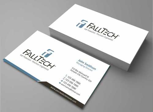 For construction and Industrial Safety  Business Cards and Stationery  Draft # 130 by Dawson